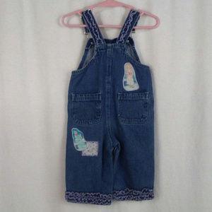Disney princess girls overalls Cinderella 12M Blue